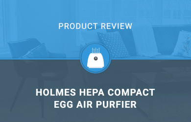 Holmes HEPA Compact Egg Air Purfier