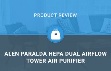 Alen Paralda HEPA Dual Airflow Tower Air Purifier