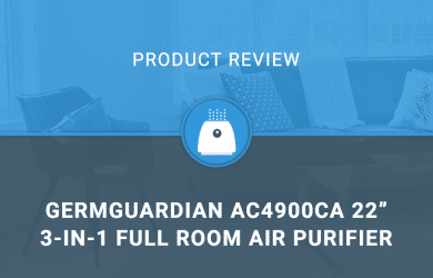 "GermGuardian AC4900CA 22"" 3-in-1 Full Room Air Purifier"
