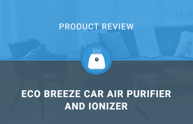 Eco Breeze Car Air Purifier and Ionizer
