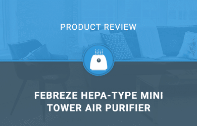 Febreze HEPA-Type Mini Tower Air Purifier