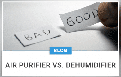Air Purifier Vs. Dehumidifier