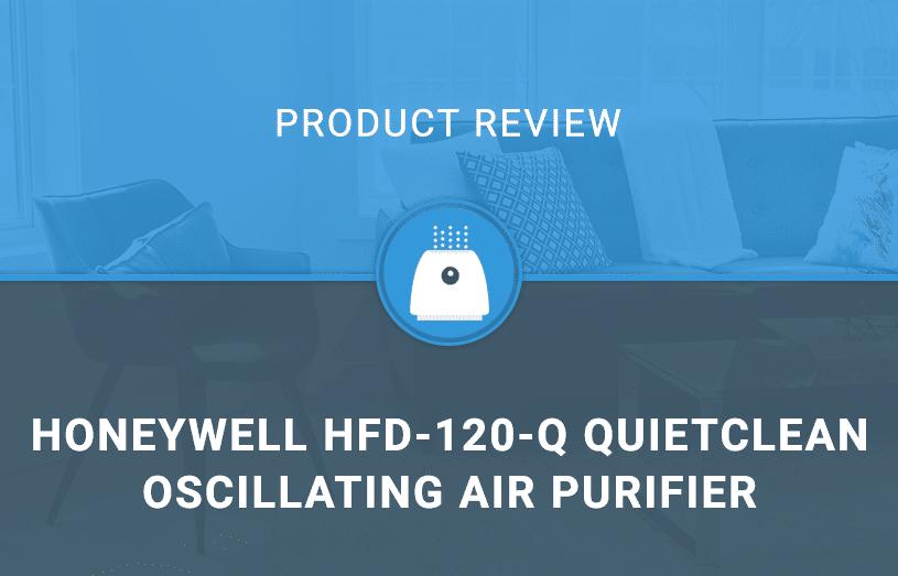 Honeywell HFD-120-Q QuietClean Oscillating Air Purifier