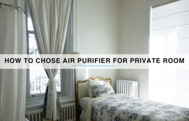 Air Purifier For Private Room