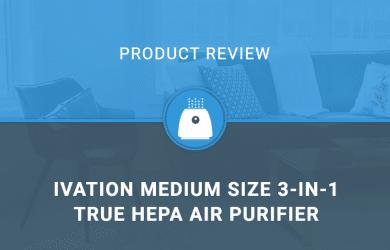 Ivation Medium Size 3-in-1 True HEPA Air Purifier
