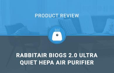 RabbitAir BioGS 2.0 Ultra Quiet HEPA Air Purifier