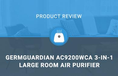 GermGuardian AC9200WCA 3-in-1 Large Room Air Purifier