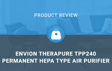 Envion 90TP240TW01-W Therapure TPP240 Permanent HEPA Type Air Purifier