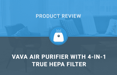 VAVA Air Purifier with 4-in-1 True HEPA Filter
