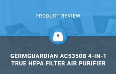 GermGuardian AC5350B 28-inch 4-in-1 True HEPA Filter Air Purifier