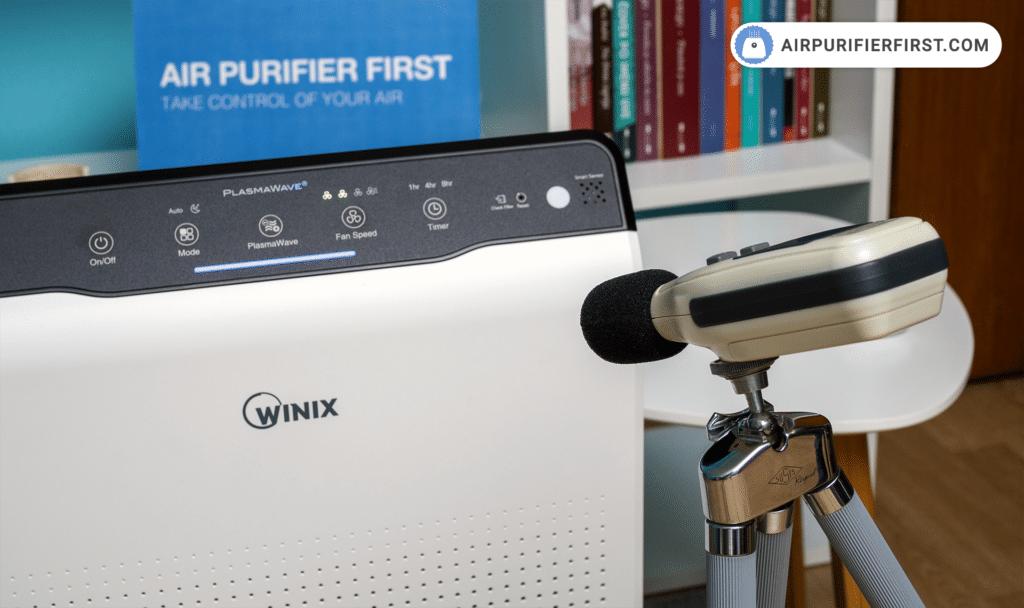 Winix C535 Noise test