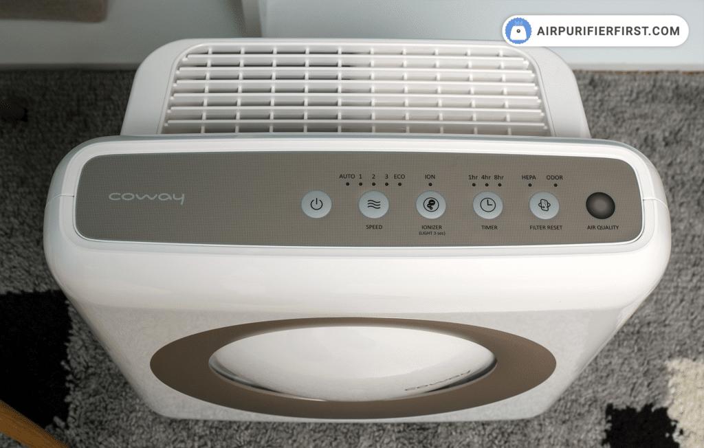 Coway AP-1512HH - Top Controls