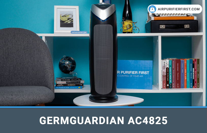 GermGuardian AC4825 Air Purifier Review - Featured Image