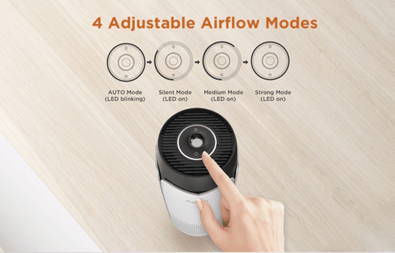 Autowit Fresh 2 - Four Adjustable Airflow Modes