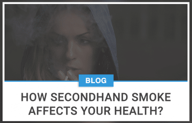 How secondhand smoke affects your health