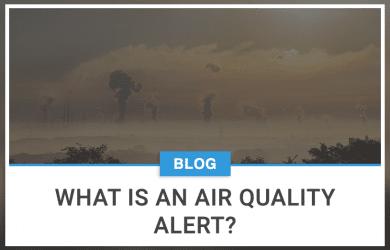 What is an air quality alert?