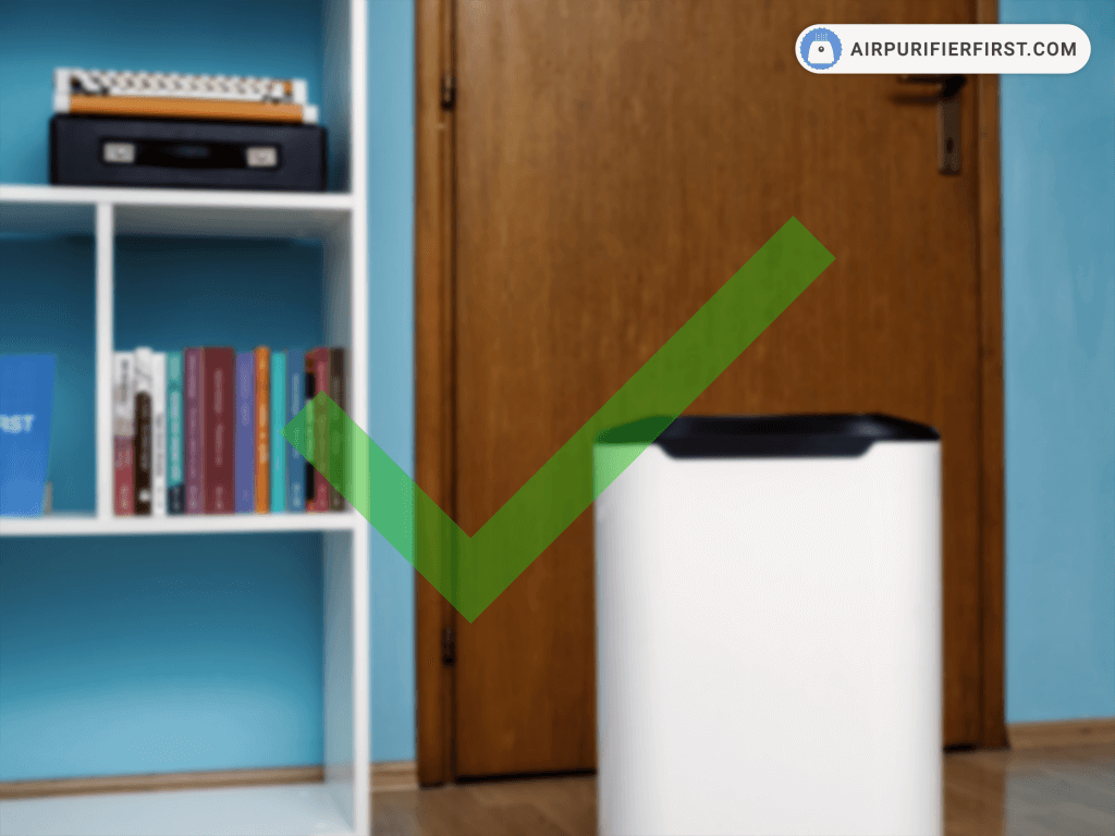 Place an Air Purifier Near the Doorway!
