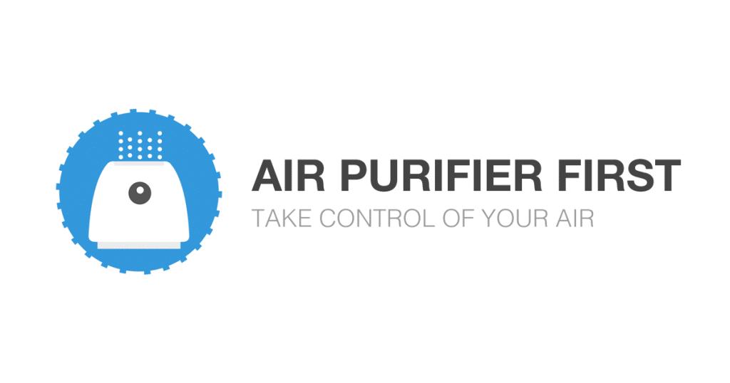 air purifier first logo dark base