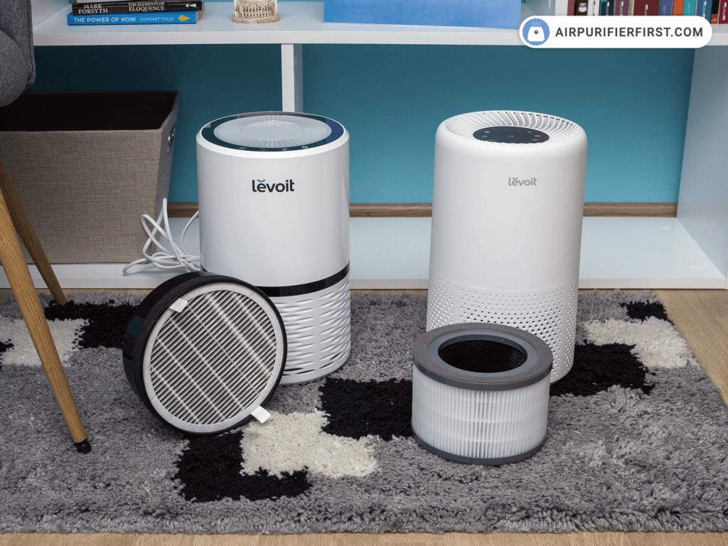 Levoit LV-H132 Vs Levoit Vista 200 Filters Comparison.