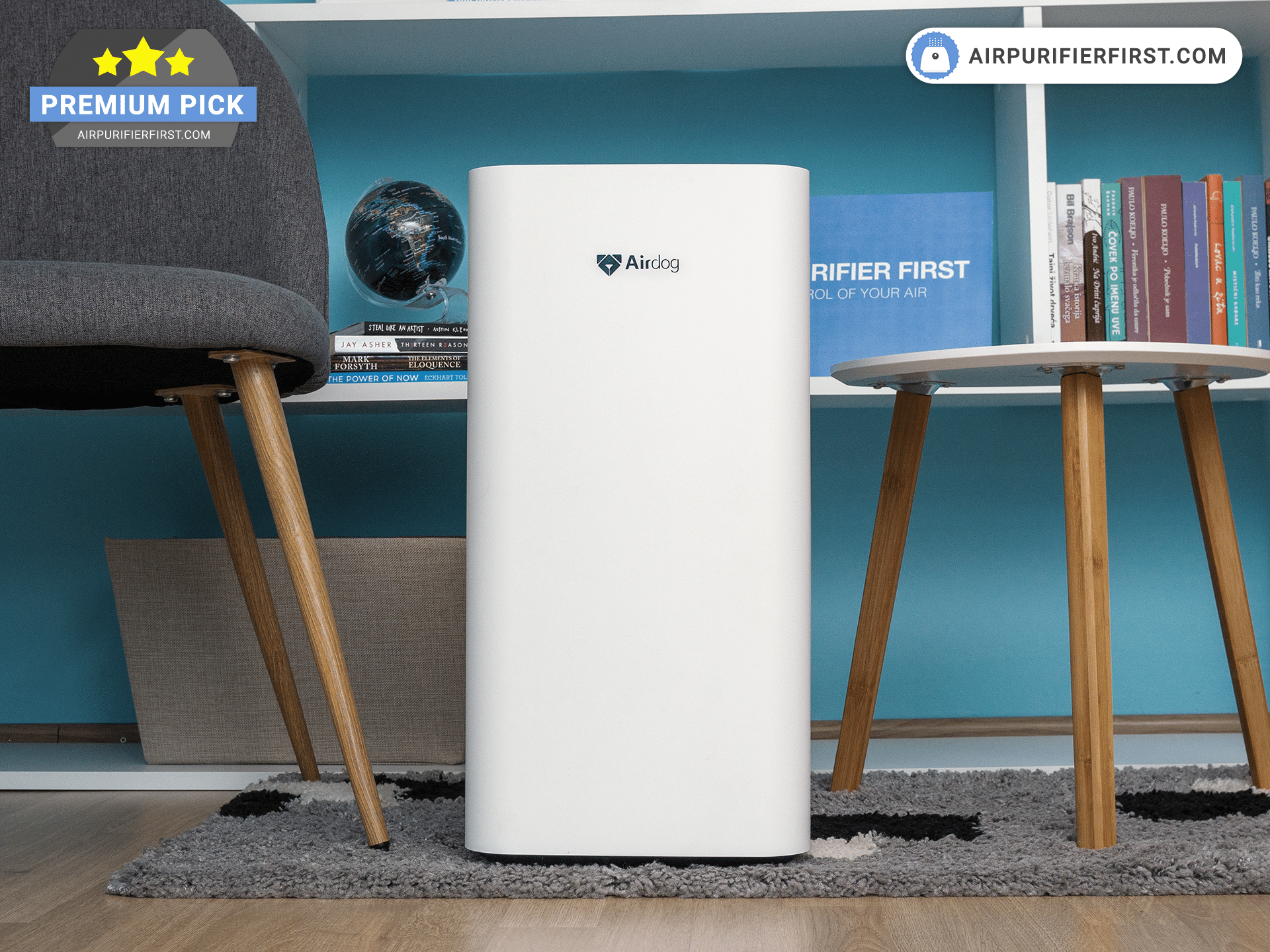 Airdog X3 - Air Purifier With Washable Filters