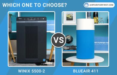 Winix 5500-2 Vs Blueair Blue Pure 411 - Comparison