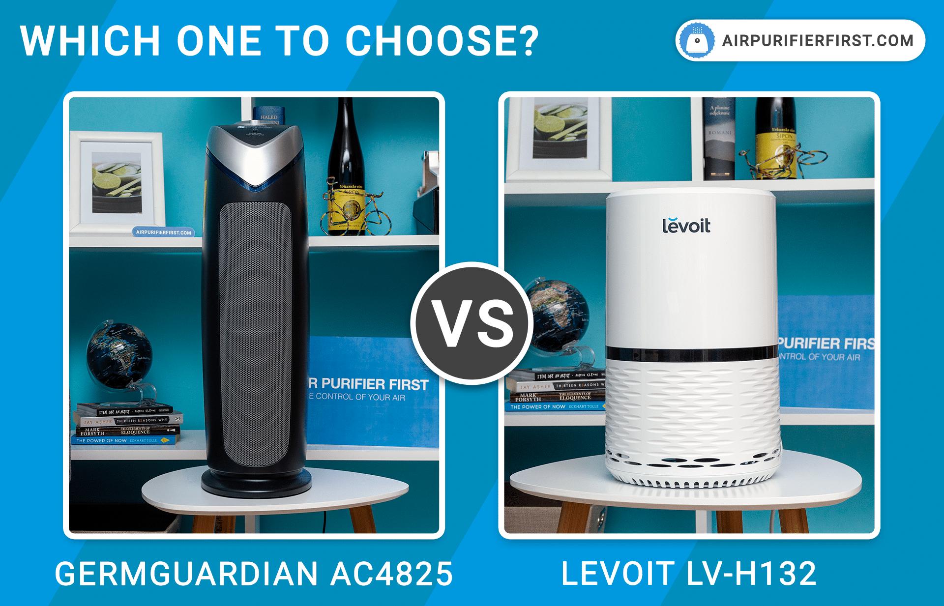 GermGuardian AC4825 Vs Levoit LV-H132 - Comparison