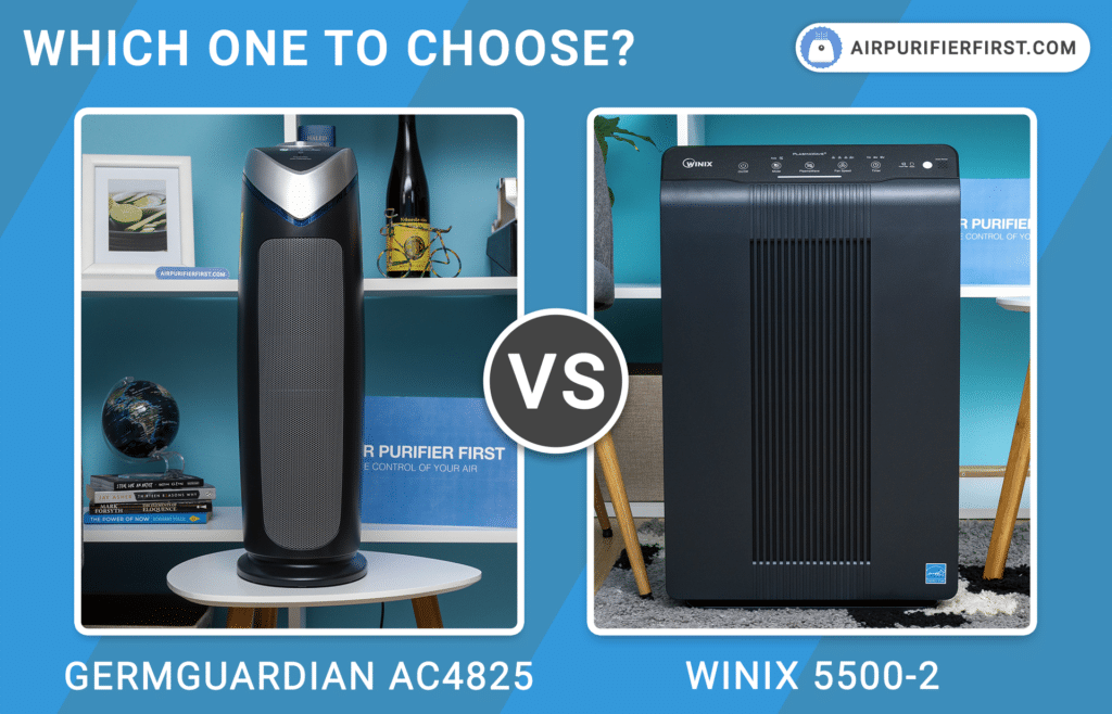 GermGuardian AC4825 Vs Winix 5500-2 - Comparison