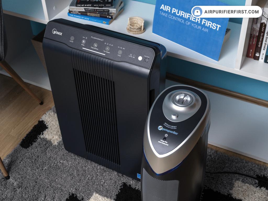 Winix 5500-2 Vs GermGuardian AC4825 – Control Panels Comparison