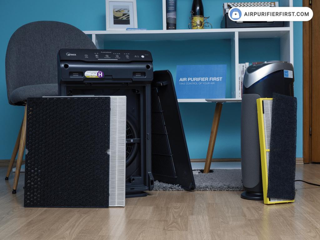 Winix 5500-2 Vs GermGuardian AC4825 - Filters Comparison