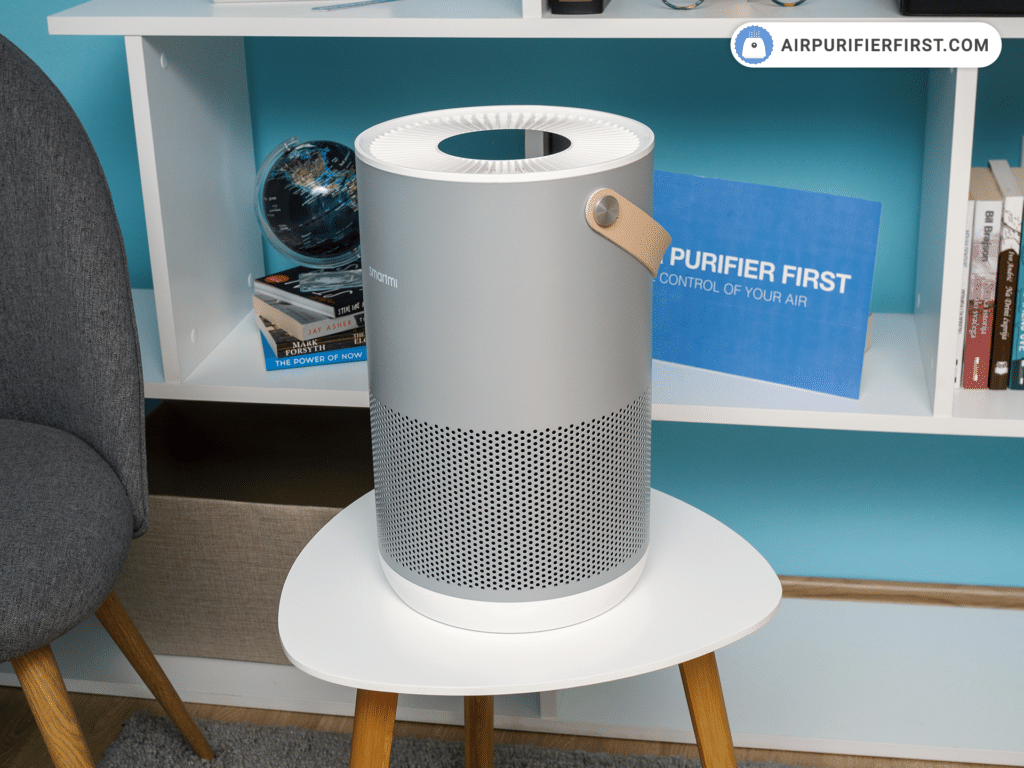 Smartmi P1 Air Purifier - Design and Size