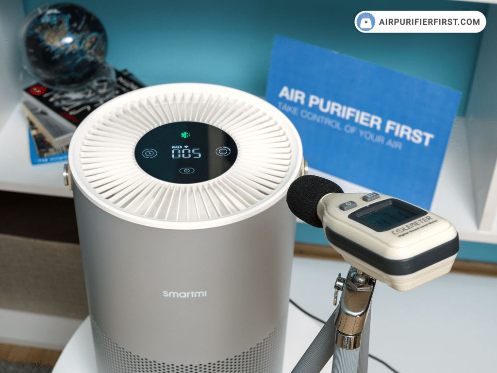 Smartmi P1 Air Purifier - Noise