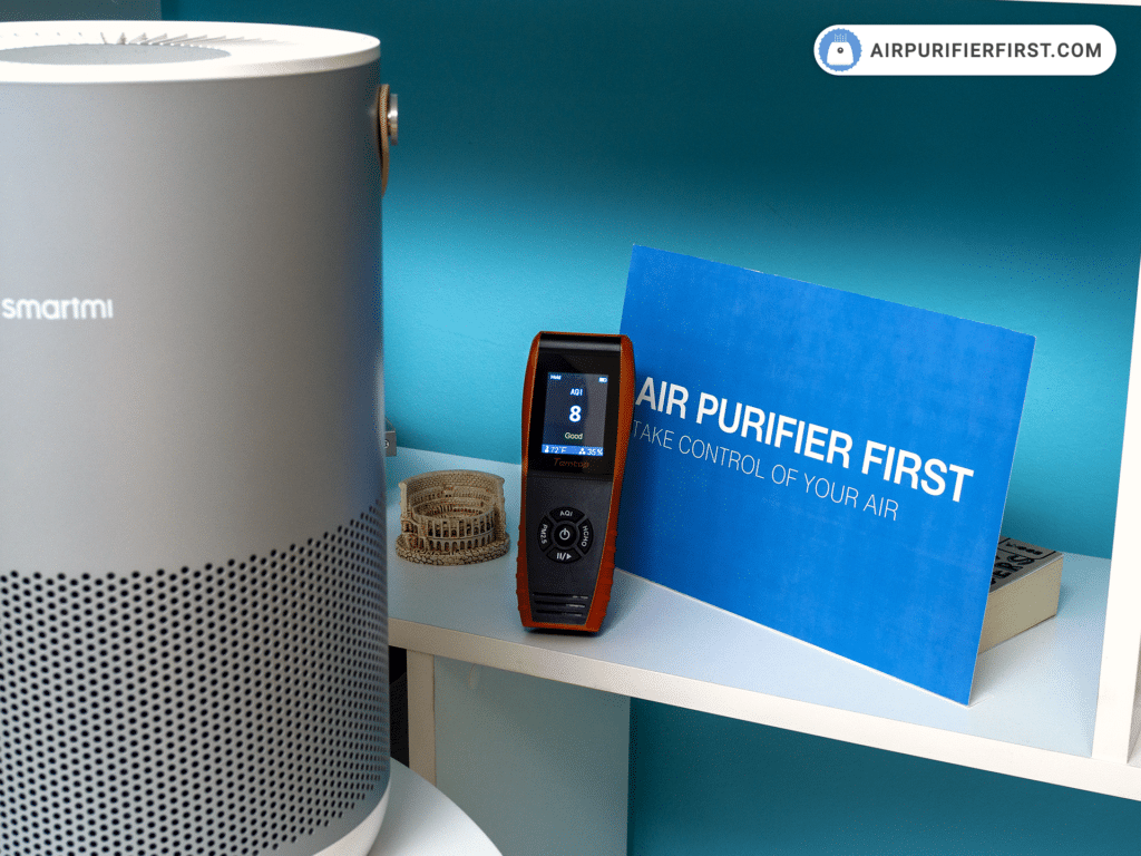 Smartmi P1 Air Purifier - Performance Test