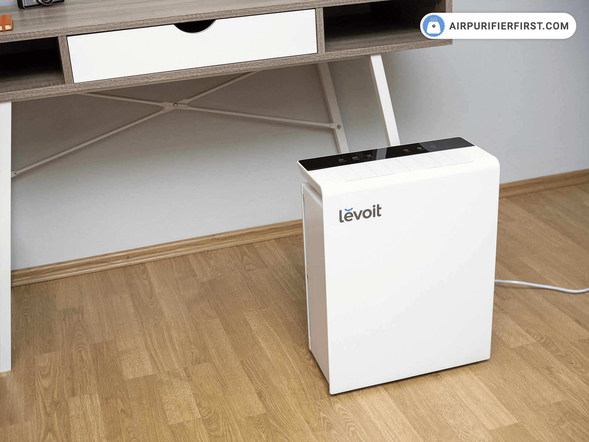 Levoit LV-PUR131 Air Purifier - In Front of the Office Desk