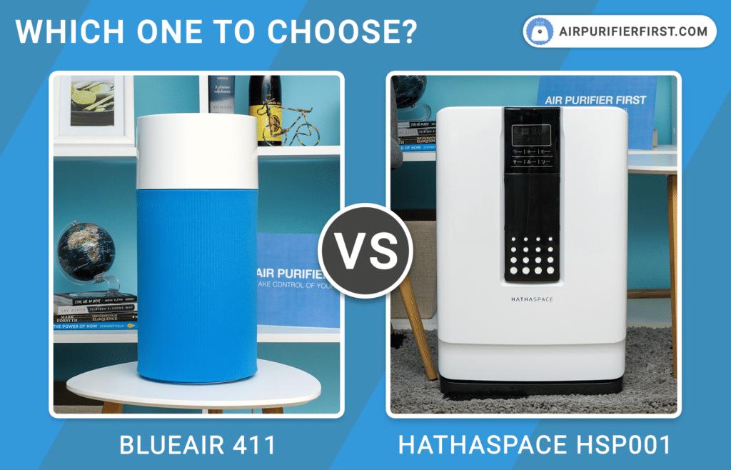 Blueair 411 Vs Hathaspace HSP001 - Comparison