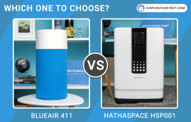 Blueair 411 Vs Hathaspace HSP001 - Comparison
