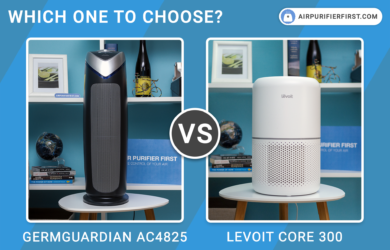 GermGuardian AC4825 Vs Levoit Core 300 - Air Purifiers Comparison
