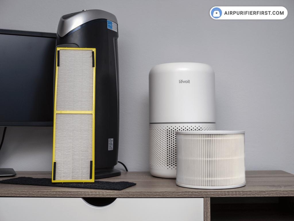 GermGuardian AC4825 Vs Levoit Core 300 - Filtration
