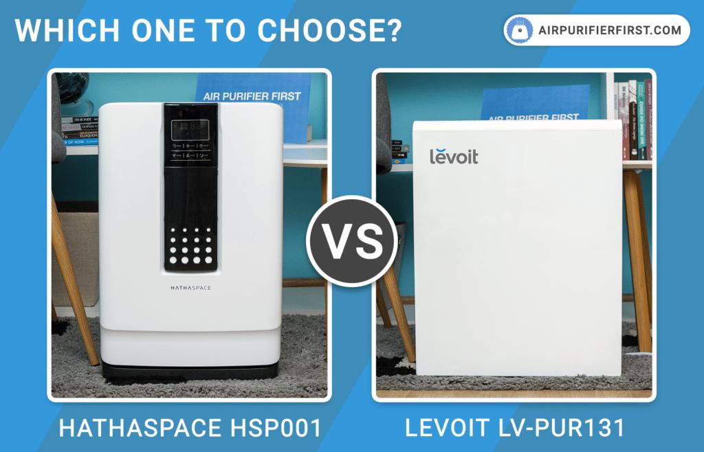 Hathaspace HSP001 Vs Levoit LV-PUR131 - Comparison