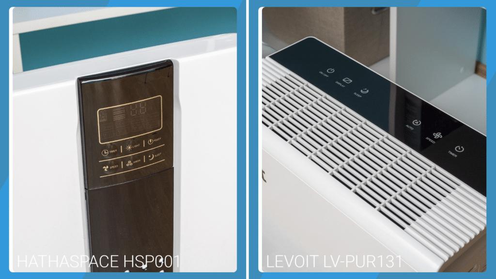 Hathaspace HSP001 Vs Levoit LV-PUR131 - Control Buttons