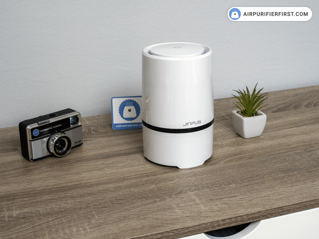 Jinpus GL-2103 Air Purifier - On The Office Desk