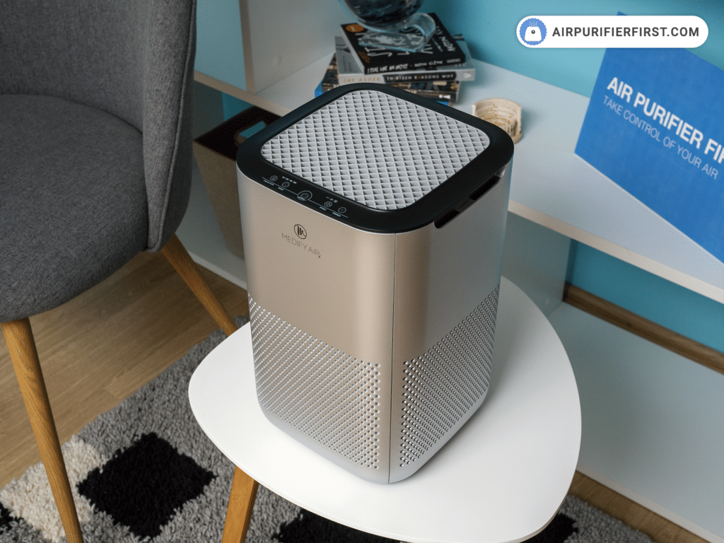 Medify Air MA-15 Air Air Purifier - Controls