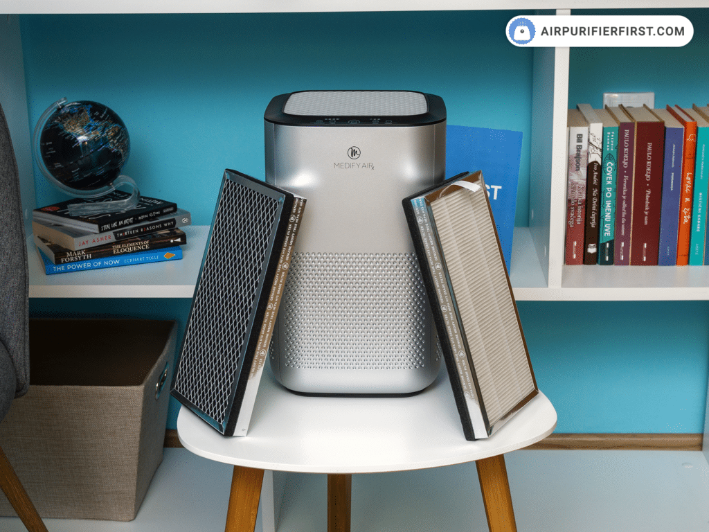 Medify Air MA-15 Air Purifier - Filtration