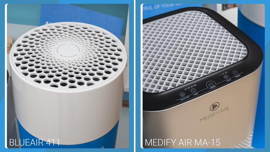Medify Air MA-15 Vs Blueair Blue Pure 411 - Control Buttons