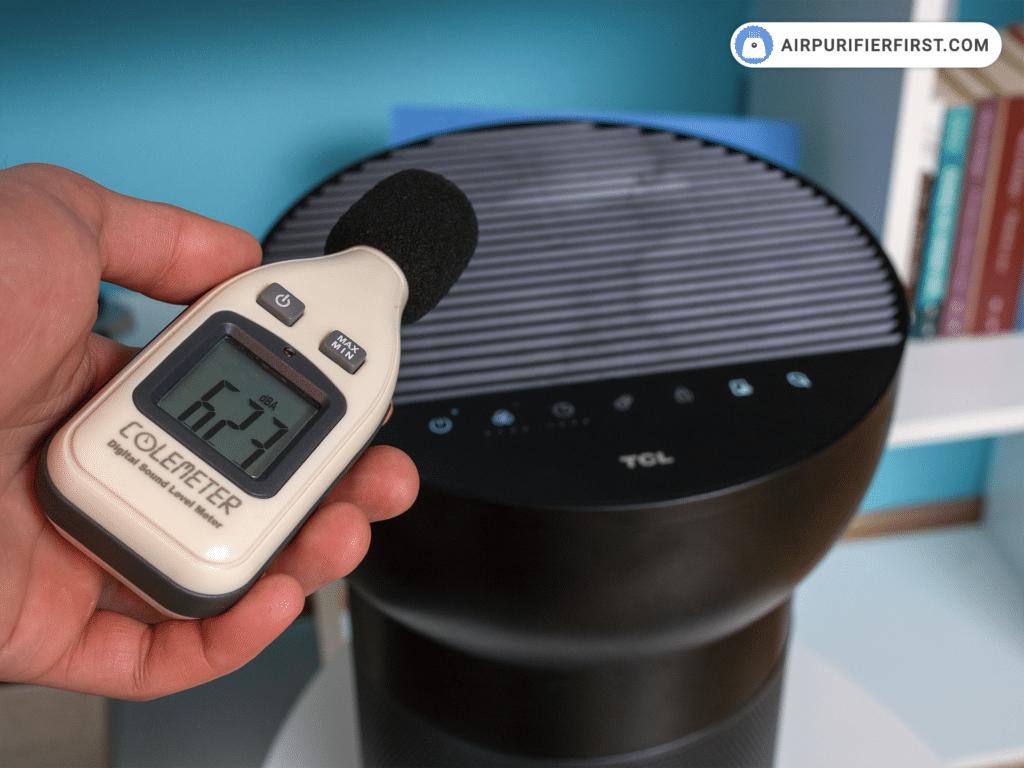 TCL breeva A2 Air Purifier - Noise Test