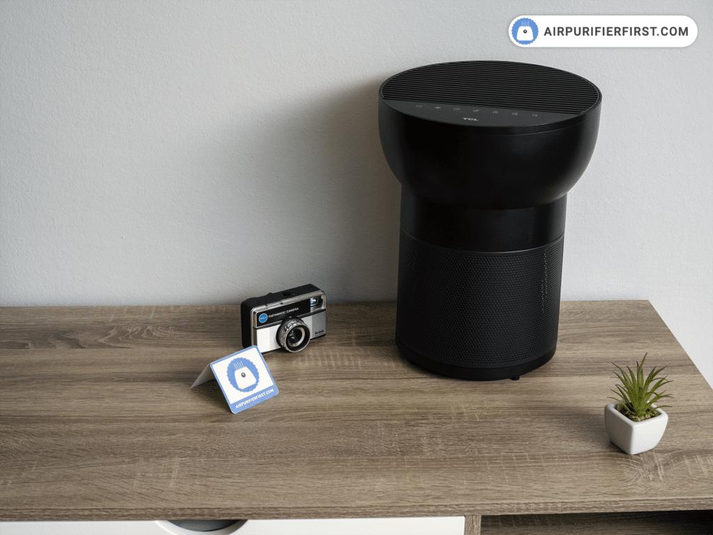 TCL breeva A2 Air Purifier - On The Desk