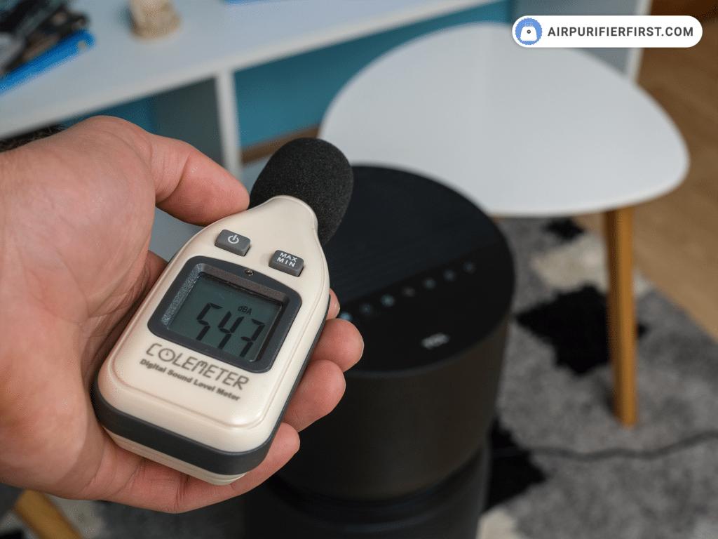 TCL breeva A3 Air Purifier - Noise Test