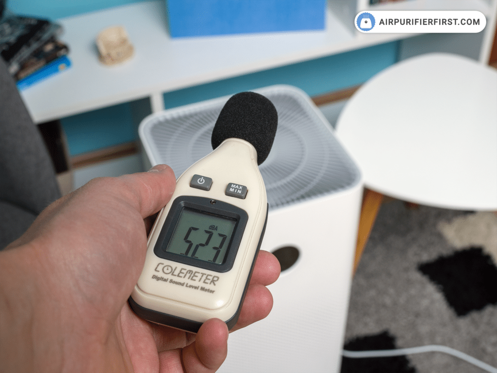 Xiaomi Mi Air Purifier 3H - Noise Test