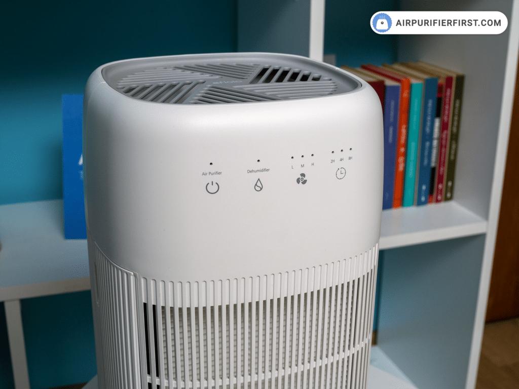 Afloia Q10 Air Purifier - Control Buttons