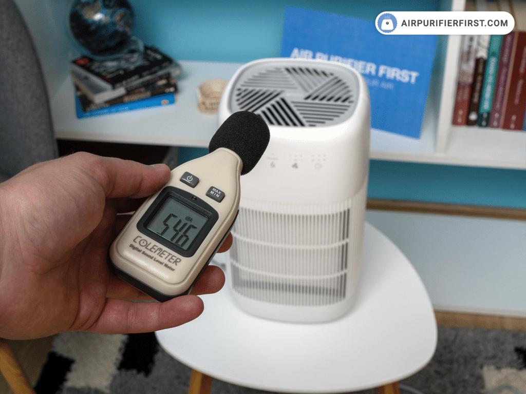 Afloia Q10 Air Purifier - Noise Test