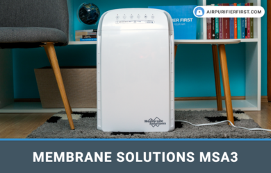 Membrane Solutions MSA3 Air Purifier - Review